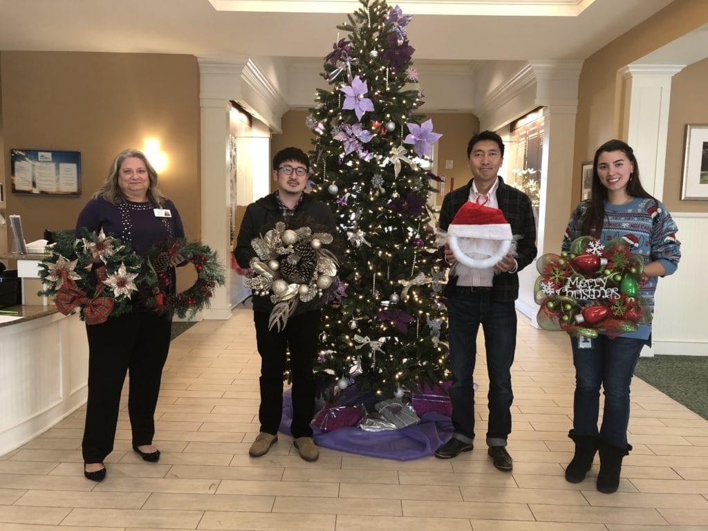 Bridgestone Hosepower Donates Wreaths To Haven Haven